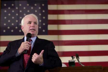Republican US Sen. John McCain